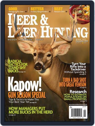 Deer & Deer Hunting (Digital) November 4th, 2014 Issue Cover