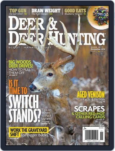 Deer & Deer Hunting October 8th, 2014 Digital Back Issue Cover