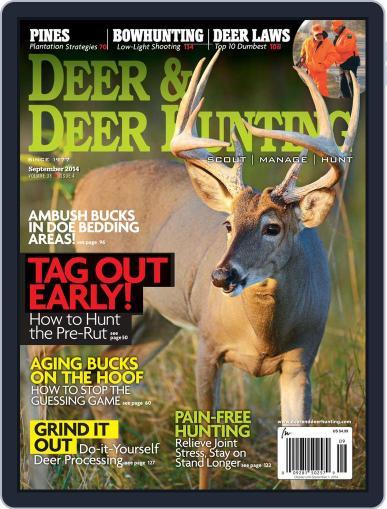 Deer & Deer Hunting (Digital) August 8th, 2014 Issue Cover