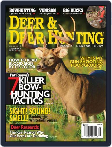 Deer & Deer Hunting June 10th, 2014 Digital Back Issue Cover