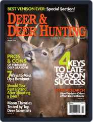 Deer & Deer Hunting (Digital) Subscription December 31st, 2013 Issue