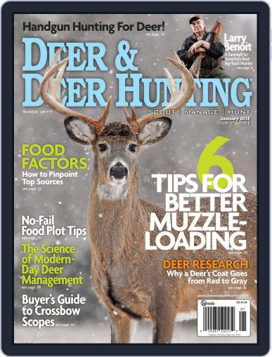 Deer & Deer Hunting December 3rd, 2013 Digital Back Issue Cover