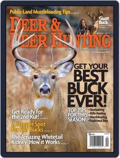 Deer & Deer Hunting (Digital) November 5th, 2013 Issue Cover