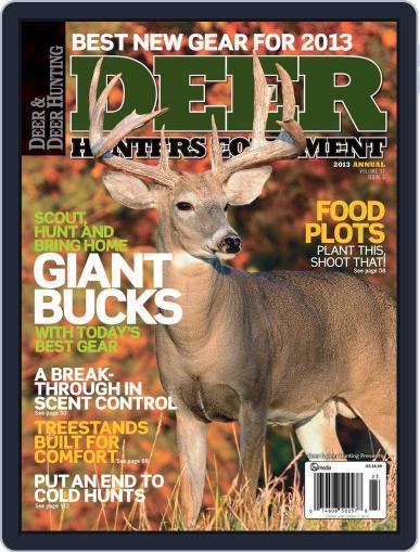Deer & Deer Hunting (Digital) July 9th, 2013 Issue Cover