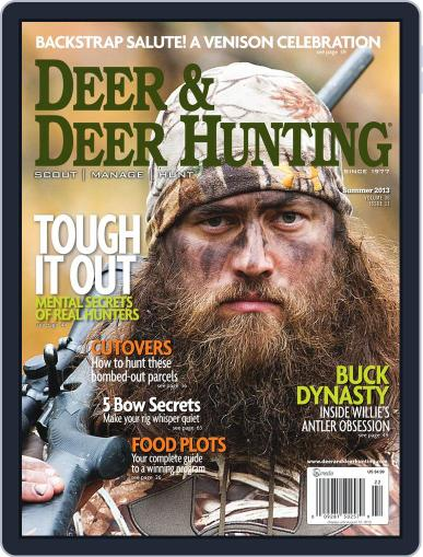 Deer & Deer Hunting May 14th, 2013 Digital Back Issue Cover