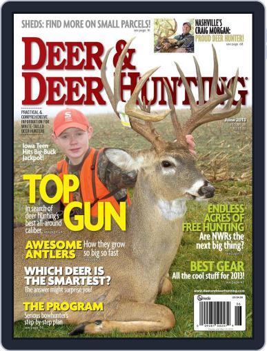 Deer & Deer Hunting April 2nd, 2013 Digital Back Issue Cover