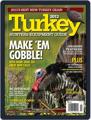 Deer & Deer Hunting March 15th, 2013 Digital Back Issue Cover