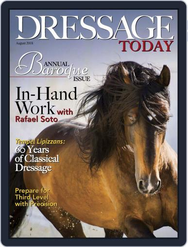 Dressage Today (Digital) August 1st, 2018 Issue Cover
