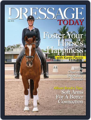 Dressage Today (Digital) July 1st, 2018 Issue Cover