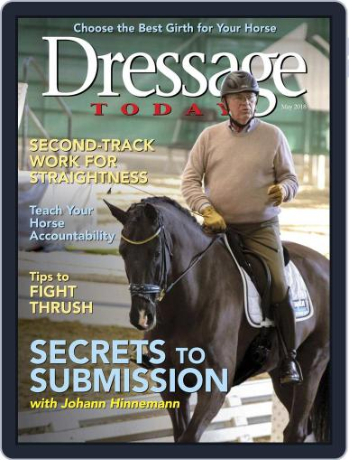Dressage Today May 1st, 2018 Digital Back Issue Cover
