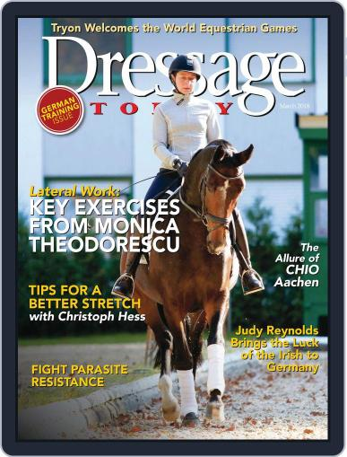 Dressage Today March 1st, 2018 Digital Back Issue Cover