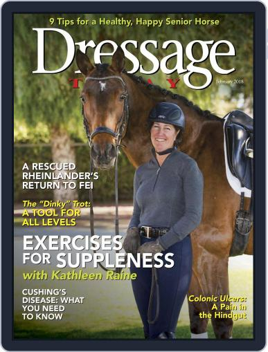 Dressage Today (Digital) February 1st, 2018 Issue Cover