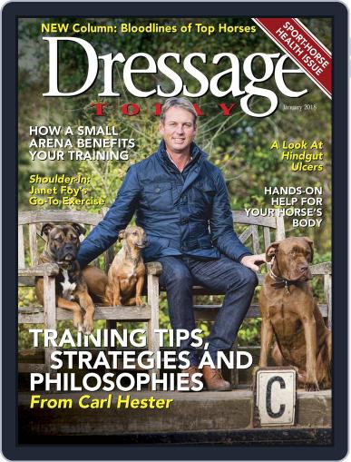 Dressage Today (Digital) January 1st, 2018 Issue Cover
