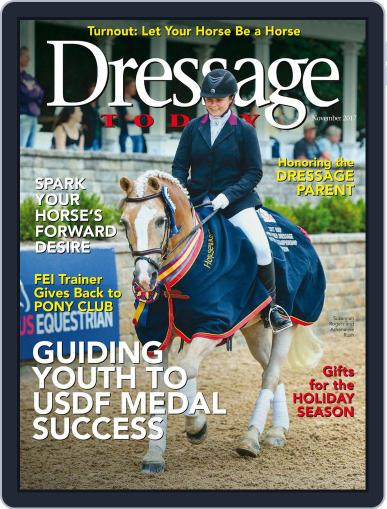 Dressage Today November 1st, 2017 Digital Back Issue Cover