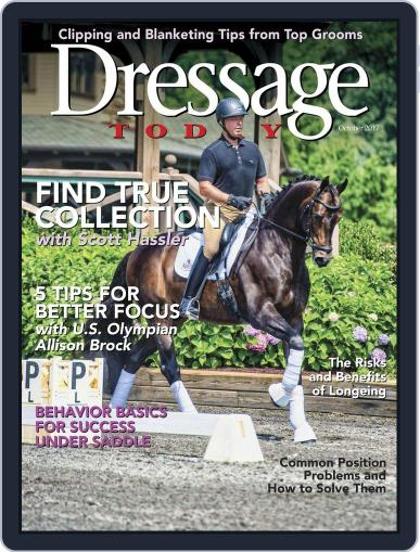 Dressage Today October 1st, 2017 Digital Back Issue Cover