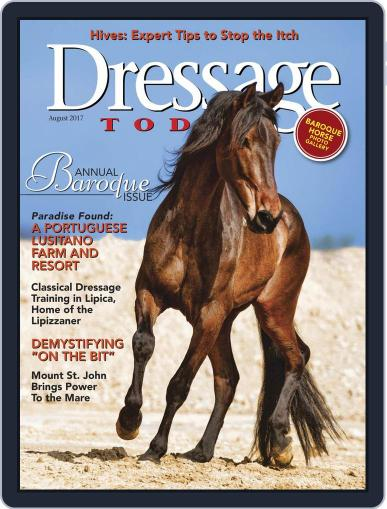 Dressage Today (Digital) August 1st, 2017 Issue Cover