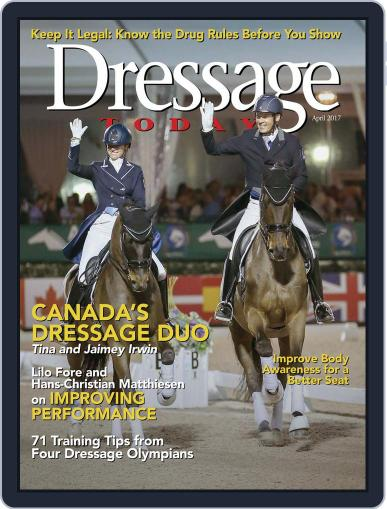 Dressage Today (Digital) April 1st, 2017 Issue Cover