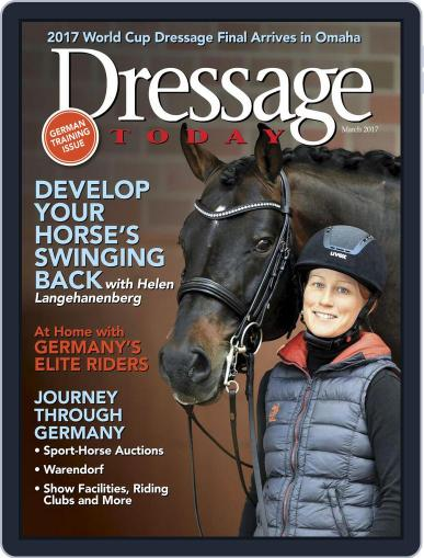Dressage Today (Digital) March 1st, 2017 Issue Cover