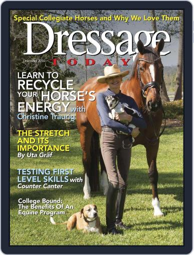 Dressage Today (Digital) December 1st, 2016 Issue Cover