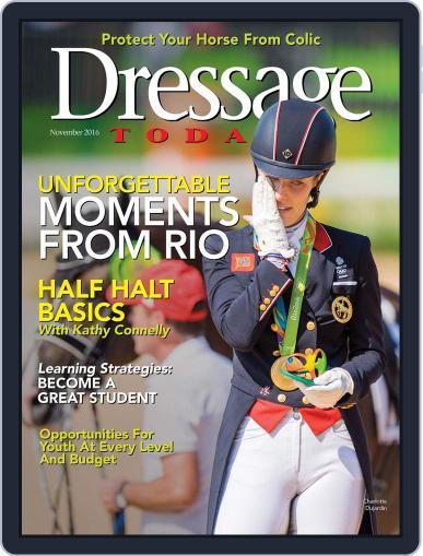 Dressage Today November 1st, 2016 Digital Back Issue Cover