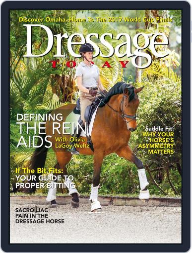 Dressage Today (Digital) April 19th, 2016 Issue Cover
