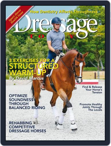 Dressage Today (Digital) January 19th, 2016 Issue Cover
