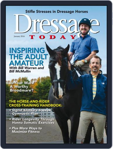 Dressage Today (Digital) January 1st, 2016 Issue Cover