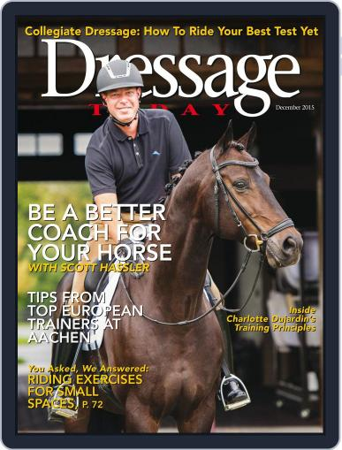Dressage Today (Digital) December 1st, 2015 Issue Cover