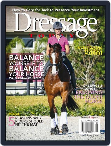 Dressage Today (Digital) May 1st, 2015 Issue Cover