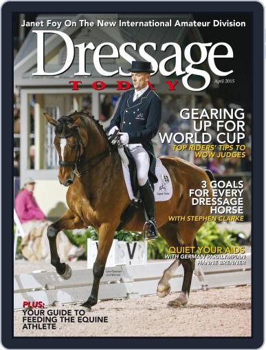 Dressage Today March 23rd, 2015 Digital Back Issue Cover