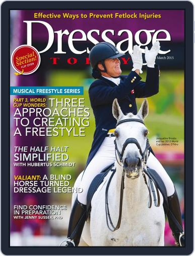 Dressage Today (Digital) March 1st, 2015 Issue Cover