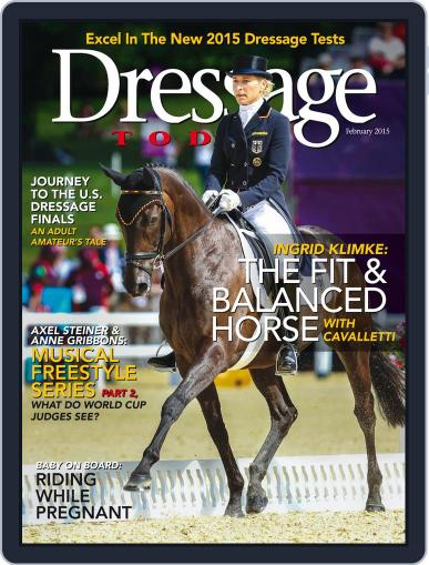Dressage Today (Digital) February 1st, 2015 Issue Cover