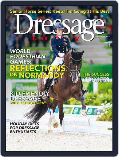 Dressage Today (Digital) October 28th, 2014 Issue Cover