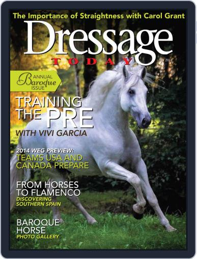 Dressage Today (Digital) June 24th, 2014 Issue Cover