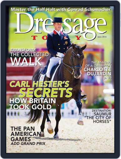Dressage Today May 27th, 2014 Digital Back Issue Cover