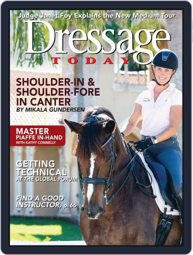 Dressage Today (Digital) February 26th, 2014 Issue Cover
