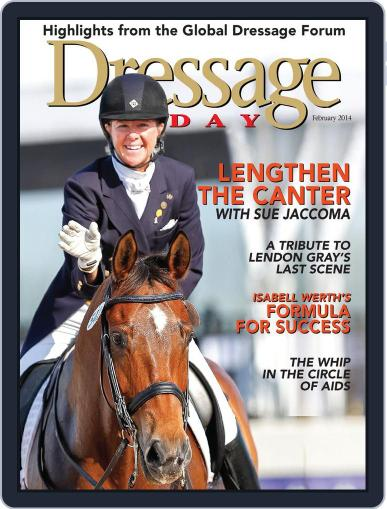 Dressage Today February 19th, 2014 Digital Back Issue Cover