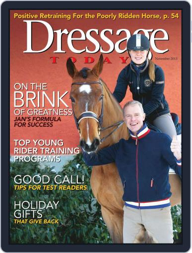 Dressage Today (Digital) October 22nd, 2013 Issue Cover