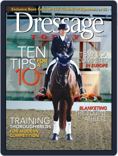 Dressage Today (Digital) September 24th, 2013 Issue Cover
