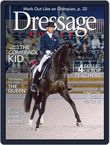 Dressage Today (Digital) August 27th, 2013 Issue Cover