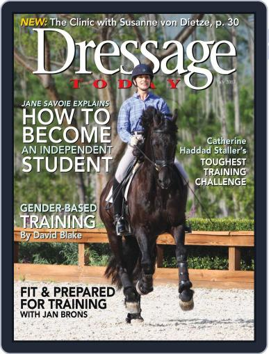 Dressage Today (Digital) June 25th, 2013 Issue Cover
