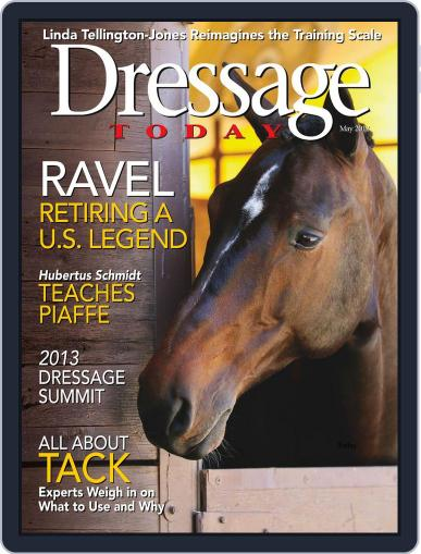 Dressage Today April 23rd, 2013 Digital Back Issue Cover
