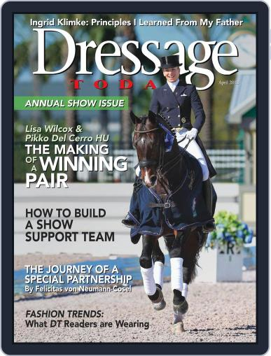 Dressage Today March 26th, 2013 Digital Back Issue Cover