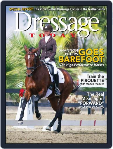 Dressage Today (Digital) January 24th, 2013 Issue Cover