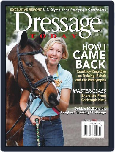 Dressage Today (Digital) June 11th, 2012 Issue Cover