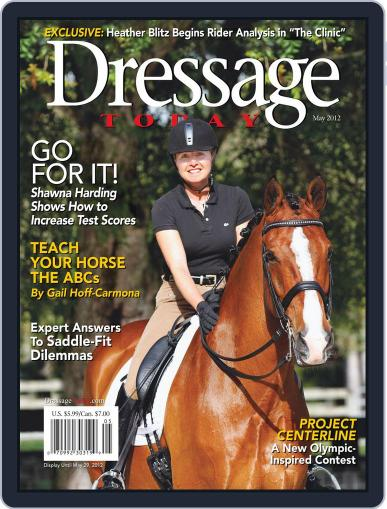 Dressage Today April 9th, 2012 Digital Back Issue Cover