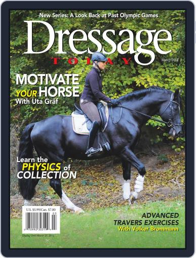 Dressage Today (Digital) February 6th, 2012 Issue Cover