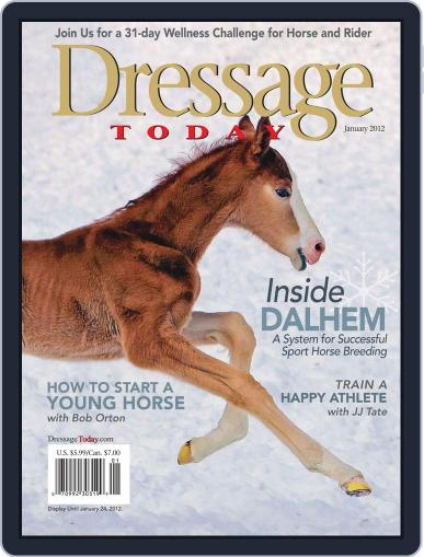 Dressage Today (Digital) December 12th, 2011 Issue Cover