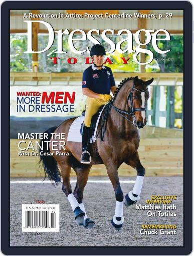 Dressage Today September 27th, 2011 Digital Back Issue Cover
