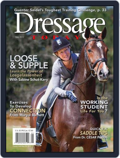 Dressage Today (Digital) April 28th, 2011 Issue Cover